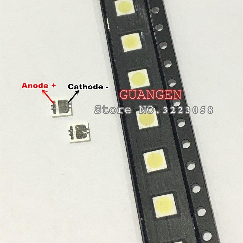 120PCS/LOT SEOUL High Power LED LED Backlight 2W 3535 6V Cool white 135LM TV Application SBWVL2S0E