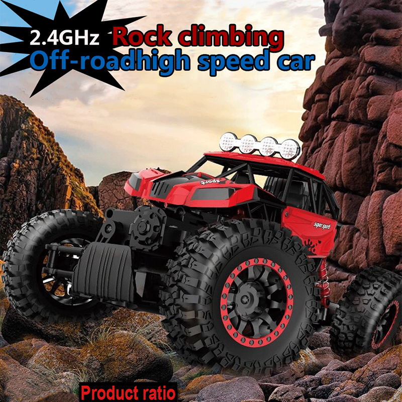 NEW Rc Car 4CH 4WD Rock Crawlers 4x4 Driving Car Double Motors Drive Bigfoot Car Remote Control Car Model Off-Road Vehicle Toy 1 12 high speed car ratio control 2 4 ghz all wheel drive model 4x4 driving car assebled buggy vehicle toy