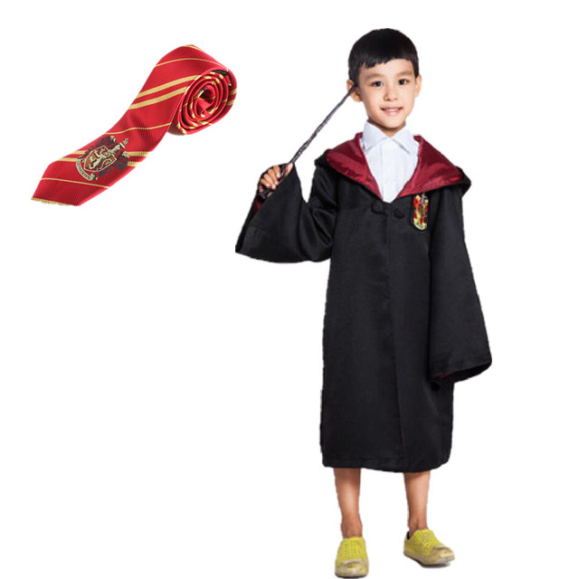 ainiel halloween gift cloak cosplay costume gryffindor slytherin ravenclaw hufflepuff black costumes for children kids boys