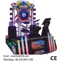 Amusement Crazy Jazz Electronic Drum Music Coin Operated Simulator Game Machine