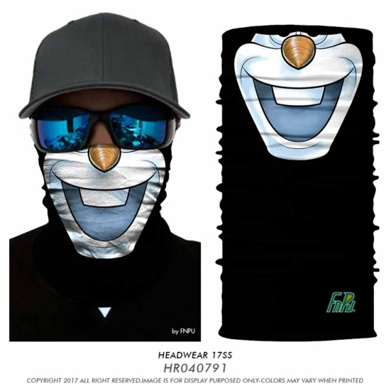 3D Magic Seamless Bandana Skull Wolf Joker Tube Neck Warmers Face Mask Motorcycle Outdoors Bandana Hero Star Headband Coif Scarf