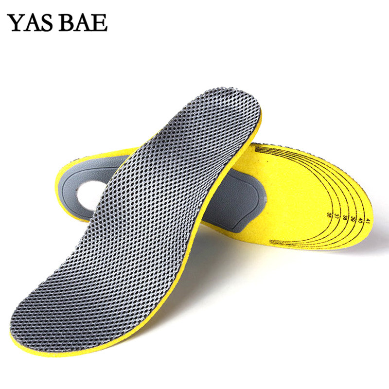 Yas Free Size Unisex Orthotic Arch Support Sport Shoe Pad Sport Running Bamboo charcoal Insert Cushion for Men Women Foot Care kotlikoff sport running insoles shoes insert orthotic arch support shoe foot pad cushion for shoes men women shoes accessories