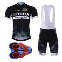 Cycling Jersey Bora Cycling Bib Shorts Summer Style Cycling Set Bicycle Quick Drying Short Sleeve Breathable
