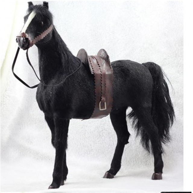 """1/6 scale Horse model for 12"""" action figure doll accessories,Horse with Saddle,not include doll and other accessories A15A2015"""