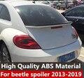 Para Volkswagen Beetle Asa Traseira Do Carro Spoiler ABS Material de Alta Qualidade Cor Cartilha Spoiler Spoiler Traseiro Para Beetle 2012- 2019