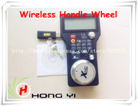 2.4G 3 Axis USB Wireless Handle Wheel For CNC Mach3 3 / 4 axis Engraving Router Router LCD