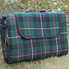 150x200cm Camping Plaid Picnic Beack Mat Blanket Foldable Climb Outdoor Waterproof Beach Blanket Mat Blanket for Picnic Beach