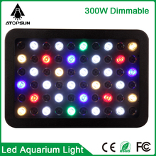 Full spectrum Dimmable 165W 300W Led Aquariuming Light high Quality aquarium led lighting for Coral reef Fish pet Tank indoor