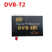 Support 40 60km H DVB T2 Digital TV Single Tuner Receiver Fully Compatible With DVB T2