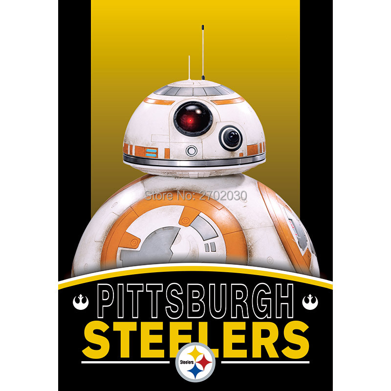 2pcs Pittsburgh Steelers Flag World Series Football Team 27 X 37 Inch Banner Vertical Super Bowl Pittsburgh Steelers Banner Flag
