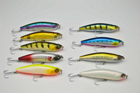 Topwater Lure Bass Pike Wobbler Floating Pencil Bait 100mm 20g