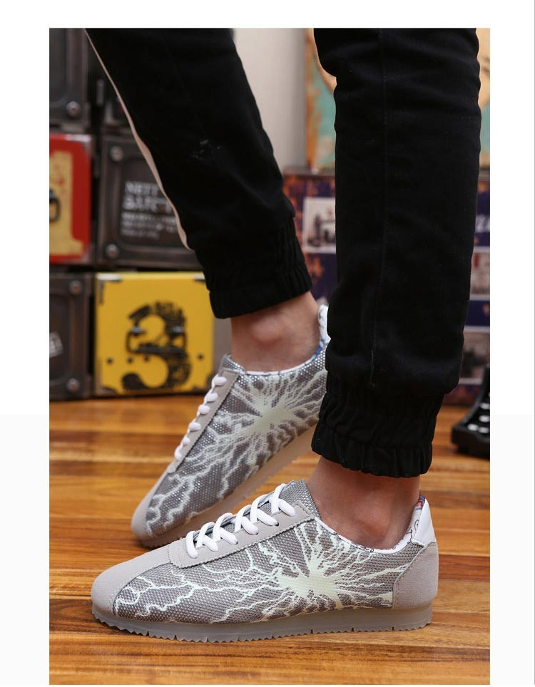 2015 new men women casual shoes lightning shoes led luminous shoes for adult  fashion fluorescent glowing Shoes chaussure  DT64 (2)