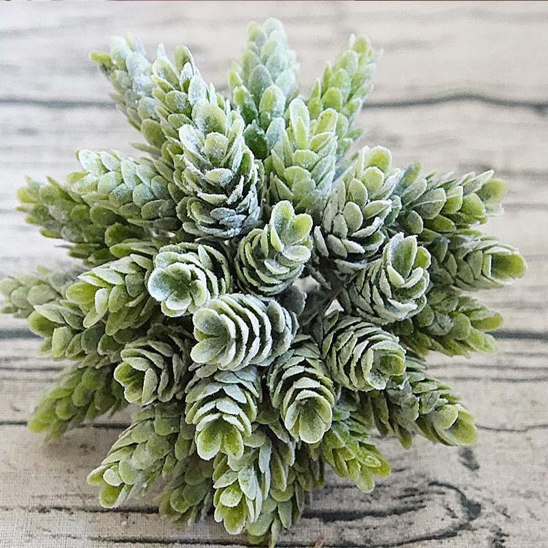 Искусственные растения для ананаса, 30 головок в комплекте, сосновый конус, искусственные растения, DIY, домашние ваз для украшения, искусстве...