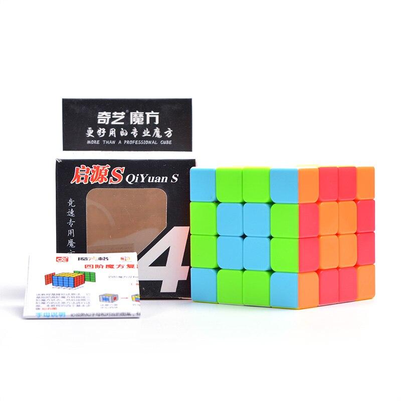 QIYI font b Cubes b font 4X4X4 For font b Magic b font font b Cube
