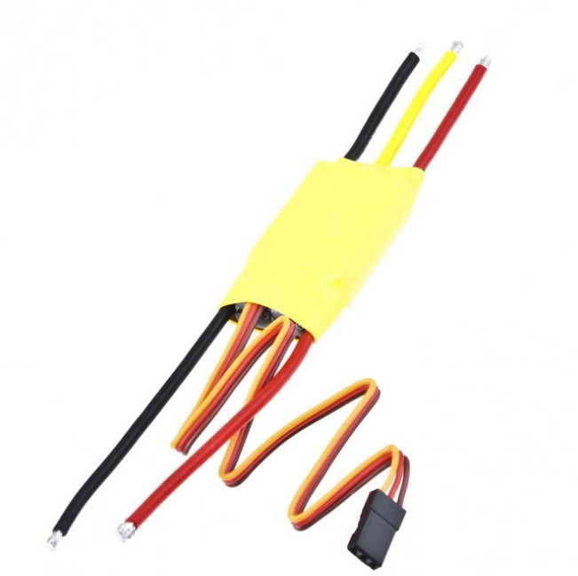 Free shipping New 30A Brushless Motor Speed Controller ESC for RC helicopter/ car 1pcs original hotrc 30a brushless motor esc speed controller with jst plug for rc quadcopter rc helicopter multicopter
