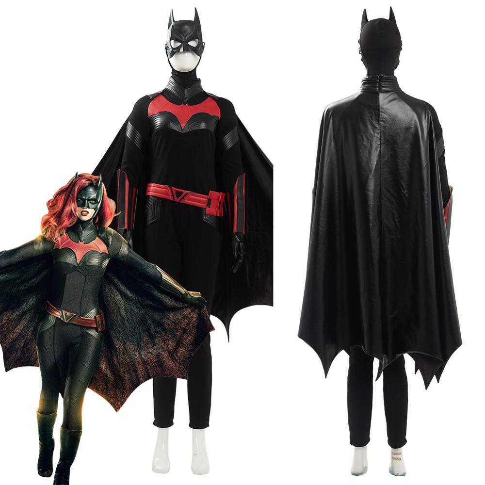 Бэтмен Batwoman Batgirl Кэти Кейн Косплей Костюм Кэрин Ребекка черный костюм для женщин Хэллоуин карнавальные костюмы на заказ