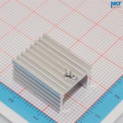 100 Шт. U-Тип 15 мм х 10 мм х 20 мм Чистый Алюминий Охлаждения Fin Радиатора Теплоотвод