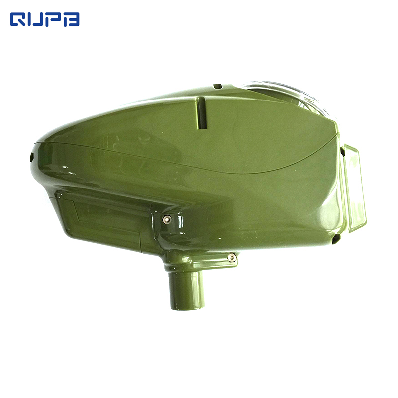QUPB Paintball Electronic Speed Loader Halo Style 180 Rounds Full Automatic Hopper LGP001