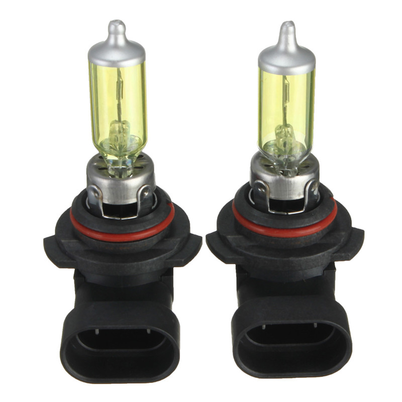 2pcs H7 H9 9005/HB3 9006/HB4 Halogen Automobile Headlight Bulb Yellow 3000K Auto Headlamp Car Light DC 12V 12v led light auto headlamp h1 h3 h7 9005 9004 9007 h4 h15 car led headlight bulb 30w high single dual beam white light