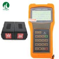 TUF 2000H+TM 1 HT Handheld Ultrasonic Flow Meter High Temperature Sensor DN50~700mm Temp 40~160C