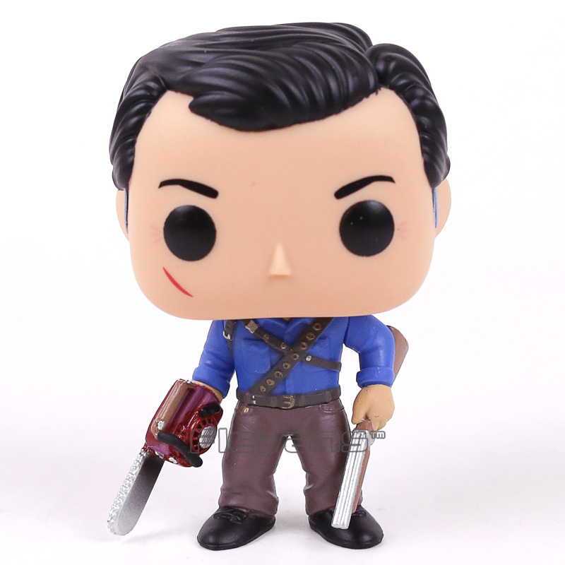 Television Ash vs Evil Dead ASH 395 Vinyl Figure Collectible Model Toy Doll with Original Box neca the evil dead ash vs evil dead ash williams eligos pvc action figure collectible model toy 18cm kt3427