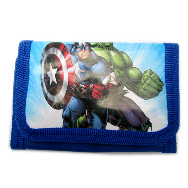 carteira do filme the avengers Product Shape : Cartoon Character