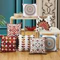 Чехол для подушки KISS QUEEN с вышитыми цветами  45 х45  декоративный чехол для дивана и дома