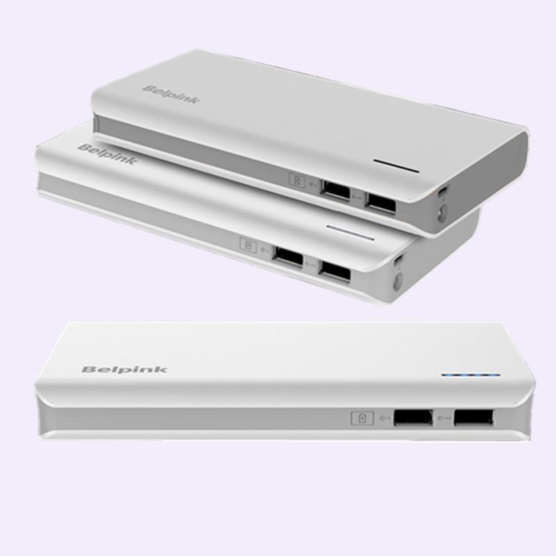 Belpink 20000 mah batterie externe externe 18650 Lithium Pack batterie Pover banque chargeur rapide pour iphone xiaomi Samsung LG