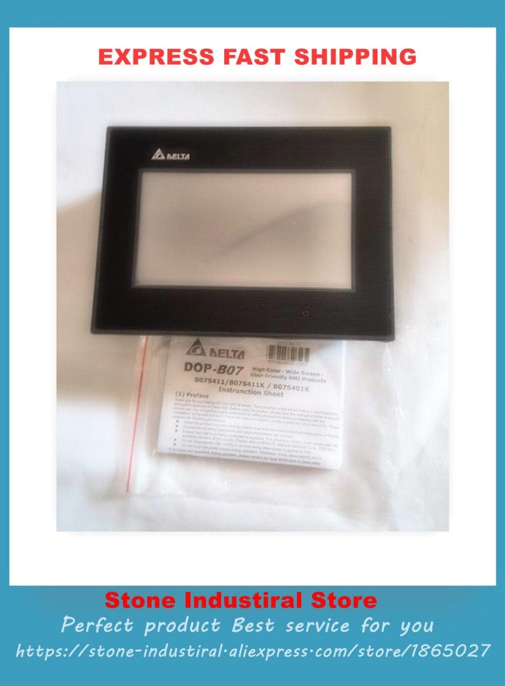 HMI DOP-B07S411 New Original HMI Touch Screen new 7 inch hmi dop b07ss411 can replace dop b07s410 or dop b07s411 touch panel screen