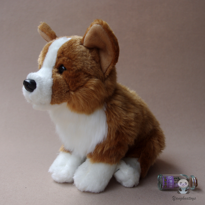 Short-Legged Dog Plush Toys For Children Corgi Doll Good Quality Simulation Stuffed Animal Toy Gifts super cute plush toy dog doll as a christmas gift for children s home decoration 20