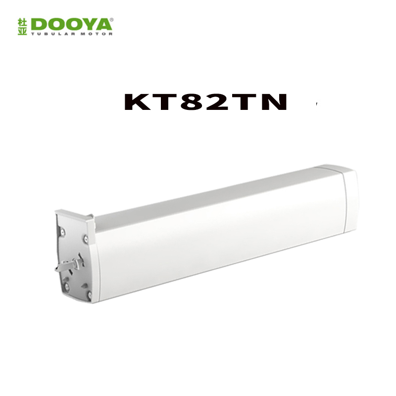Original Dooya KT82TN,DC Electric Curtain Motor, Built-in AC 100-240V transformer, Remote Control for Smart Home automatic ewelink dooya electric curtain system curtain motor dt52e 45w remote control motorized aluminium curtain rail tracks 1m 6m