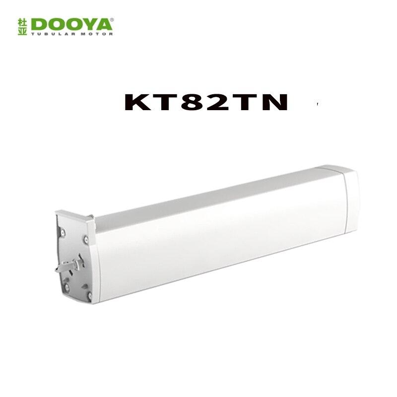 Original Dooya KT82TN, DC Elektrische Vorhang Motor, Eingebaute AC 100-240 v transformator, fernbedienung für Smart Home automatische