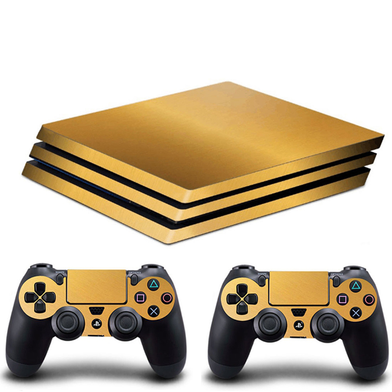HOMEREALLY PS4 Pro Skin 5 Styles HD Vinyl Decal Vinly HD Sticker Cover For Playstaion 4 Pro Console and Controller Skin Ps4 Pro
