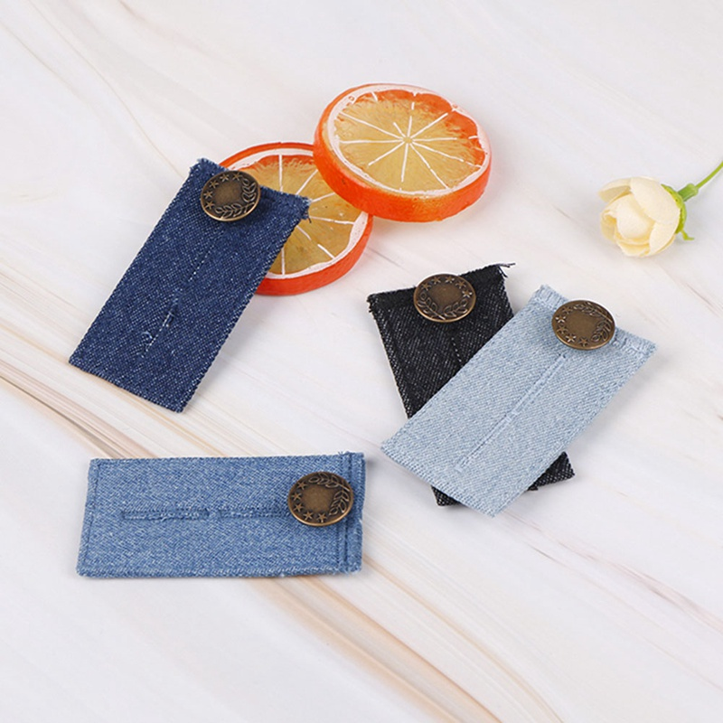 New Jeans Waistband Enlarged Belt Waist Accessory Extension Buckle Button Extender For Pants Trousers Shorts