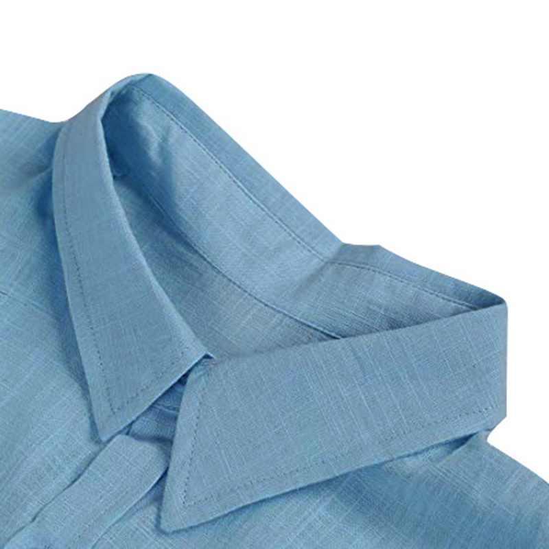 MJARTORIA 2019 男性のシャツ固体半袖ボタンカジュアルトップス男性ストリートルース夏スリムフィット通気性シャツ