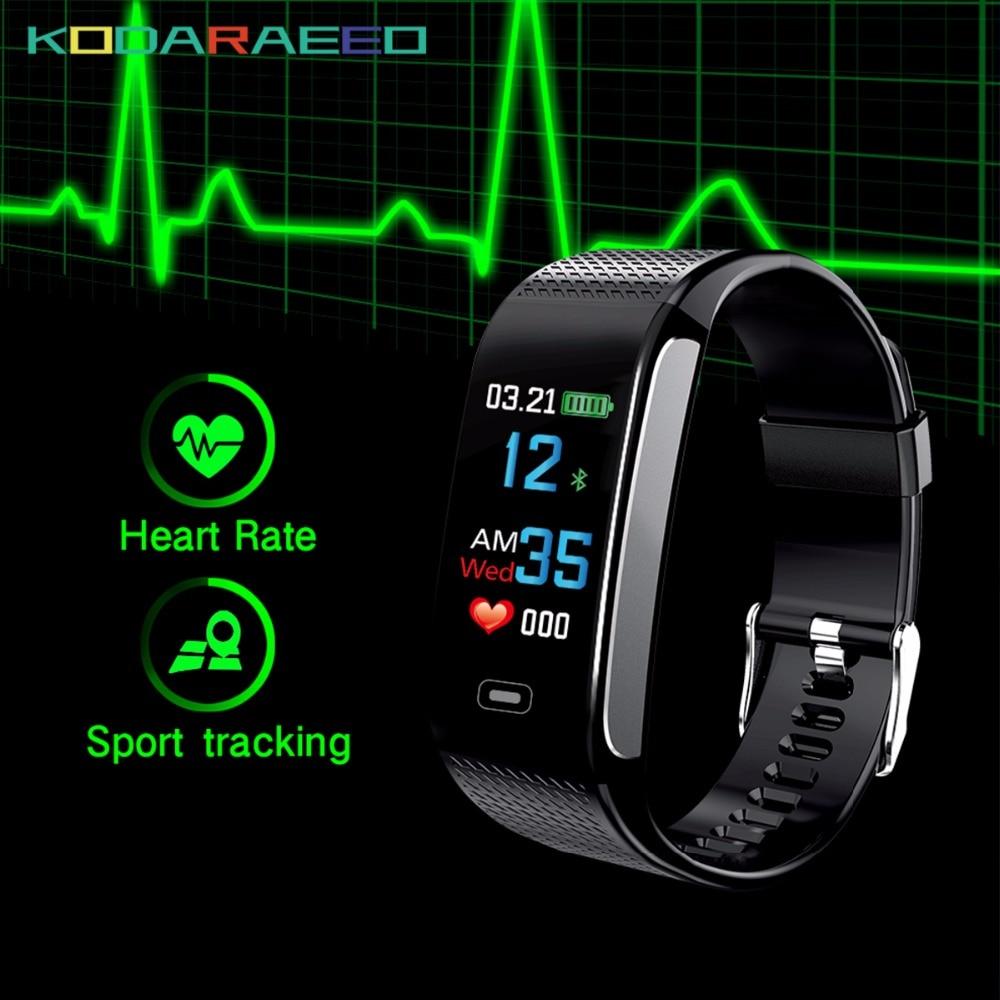 CK18S SmartBracelet Blutdruck Herz Rate Monitor IP67 Armbanduhr Fitness Band Tracker Pedometer Armbänder PK CK11S CK17S