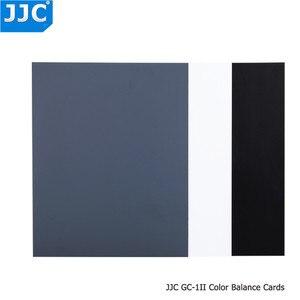 Image 3 - JJC Camera Màu Sắc Chính Xác Cân Bằng Công Cụ Chống Nước 3 trong 1 Kỹ Thuật Số Màu Xám Thẻ cho Canon/Sony/Nikon/Olympus/Fujifilm/Pentax