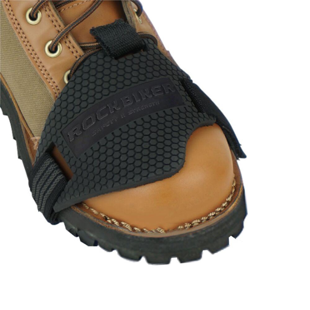 Gummi Moto Motorrad Getriebe Shifter Schuh Stiefel Protector Pad Abdeckung Reiten Schuhe Scuff Motorrad Shifter Wachen Scuff Mark