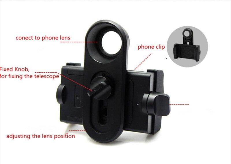 Universal handyhalter für umfang 62 mm 110 mm telefon clip verbinden