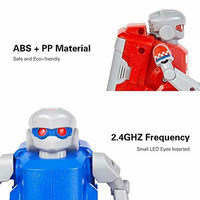 1 Pair RC Soccer Robots Kids Toys Set 2.4G Remote Control Robot Sport Ball Games Gifts YH 17