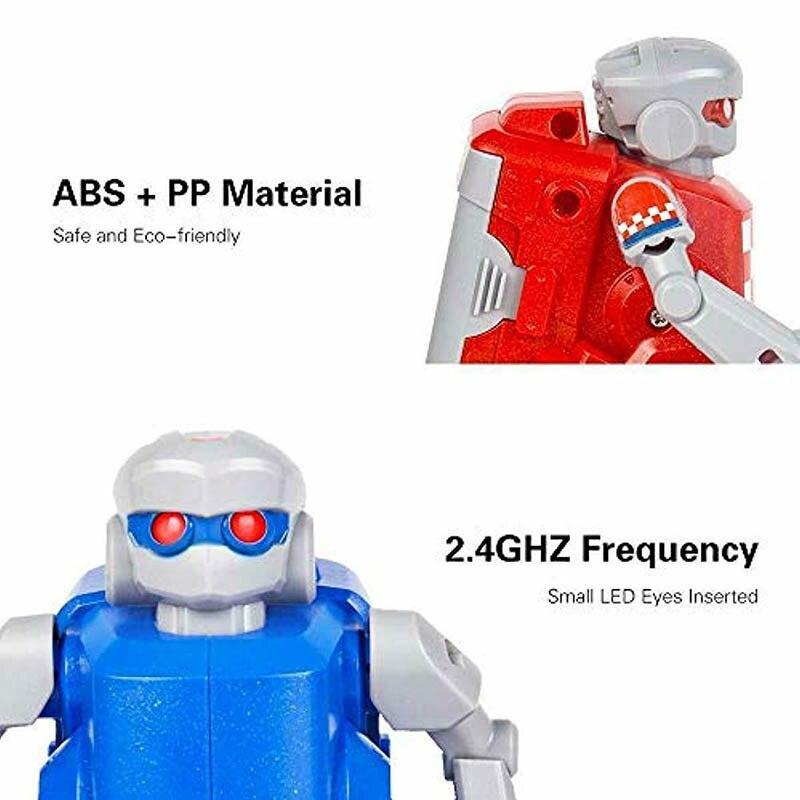 1 paire RC football Robots enfants jouets ensemble 2.4G télécommande Robot Sport balle jeux cadeaux YH-17