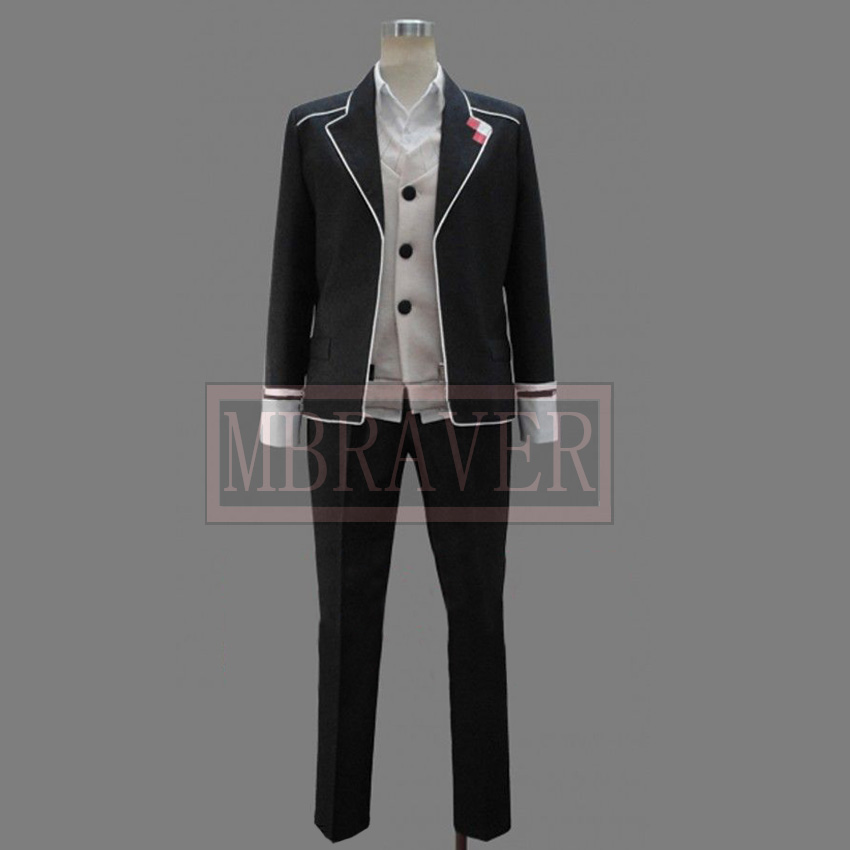 Diabolik Lovers Shu Sakamaki Cosplay Costume Custom Made Any Size