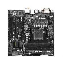 Для материнской платы ASRock FM2A88M Extreme4+ оригинальная б/у рабочего стола материнской платы A88X гнездо FM2+/FM2 DDR3 SATA3 USB3.0