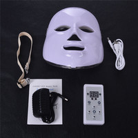 7 Colors Beauty Therapy Photon LED Facial Mask Beauty Light Skin Care Rejuvenation Wrinkle Acne Removal