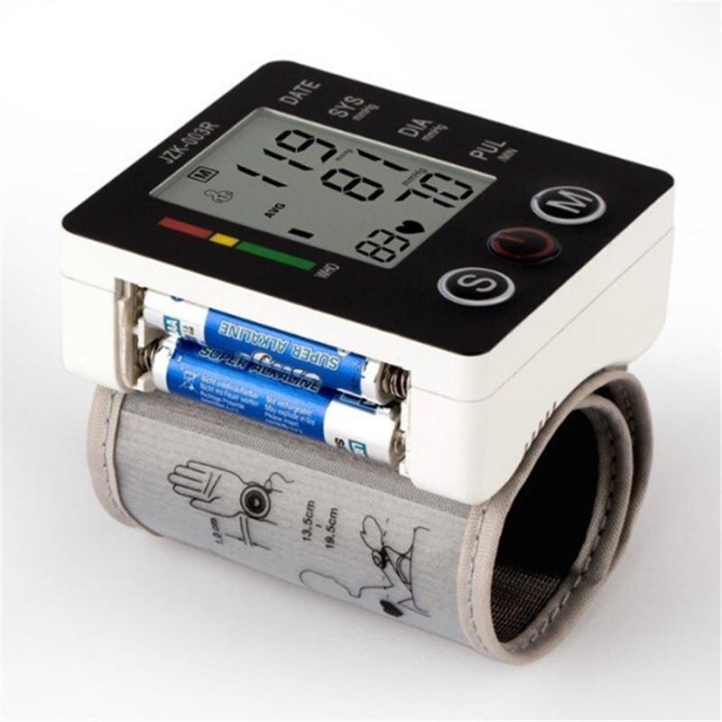 Portable Digital Blood Pressure Monitor Wrist Sphygmomanometer Blood Pressure Tonometer Automatic Helth Care Pressure Device (3)