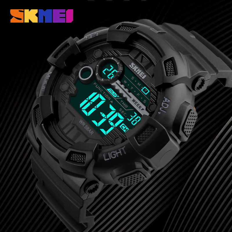 Fashion G Style Shock Watch Men Sport Digital Watch Waterproof Electronic Clock SKMEI Luxury Brand Wristwatch LED Reloj Hombre skmei skmei big dial dual time display sport digital watch men chronograph analog led electronic wristwatch s shock clock