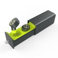 YTOM True Wireless Earbuds TWS Bluetooth Headset Headphones Mini Twin Cordless Hands Free Built In Mic