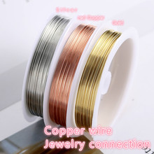 Gold Silver Jewelery Connectors Wire Findings Components For Jewelry Making Supplies Diy Materials Hand Made Accessories