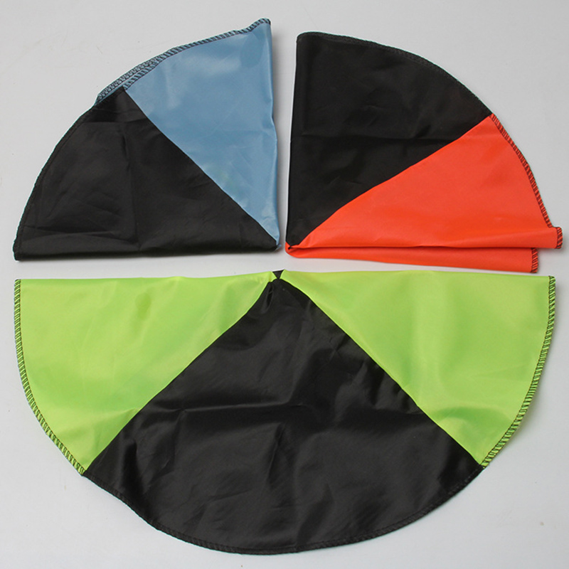 Kids Children Funny Flashing Toy Throwing Parachute Outdoor Sport Gift Toys