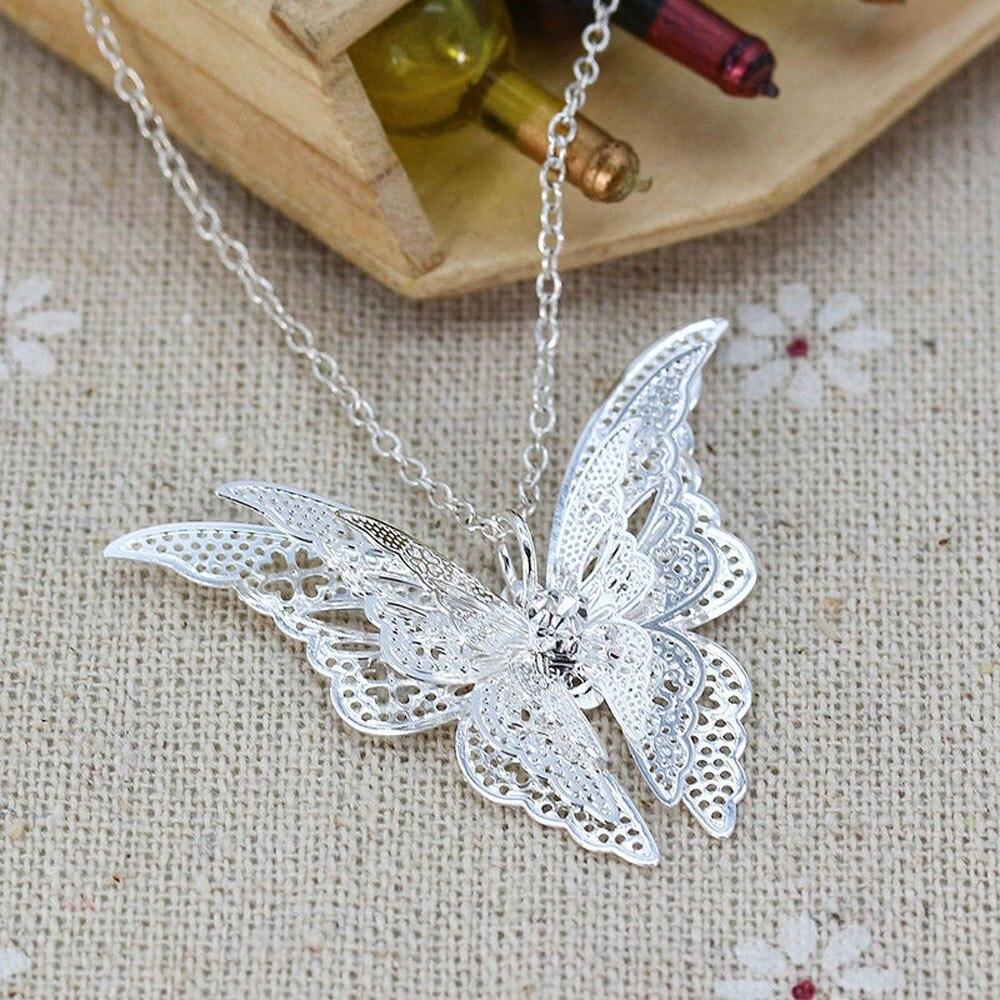 Women Butterfly Pendant...